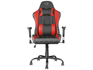 Silla Gaming Trust GXT 707R Resto, reclinable. Color Negro/Rojo.