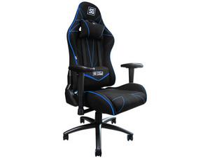 Silla Gaming Vorago Start The Game CGC500-BL. Color Negro/Azul.