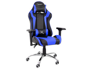 Silla Gaming Stylos Xzeal XZ10. Color Negro/Azul.