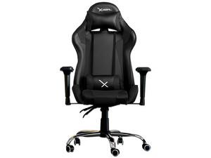 Silla Gamer Xzeal XZ10, inclinación ajustable, Color Negro.