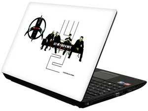 Skin TechZone U2 Tour 360 para Laptop Widescreen de 10.2