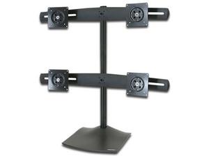 Soporte de Escritorio para Cuatro Monitores Ergotron DS100. Color Negro.