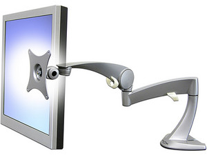Brazo de mesa Ergotron Neo-Flex para monitor de hasta 8Kg. Color Plata.
