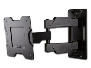 "Soporte de pared Ergotron Neo-Flex Cantiliver con ajuste horizontal para pantalla de TV de 37\"" a 63\""."