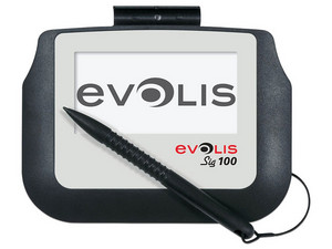 Digitalizador de Firmas Evolis SIG100, USB. Color Negro/Blanco.