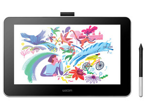 "Tableta Interactiva Wacom One 13.3\"", 1920 x 1080, USB, HDMI, Color Blanco"