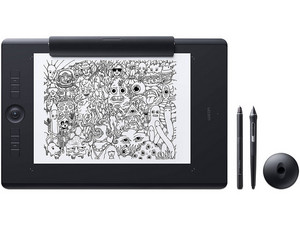 Tableta gráfica Wacom Intuos Pro Paper Edition PTH860P, Bluetooth, Large.