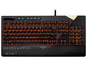Teclado mecánico ROG Strix Flare Call of Duty: Black Ops 4 Edition, con retroiluminación RGB, USB.
