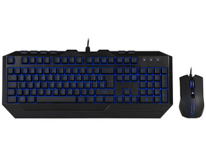 Teclado Gamer y Mouse Cooler Master Devastator III Gaming Combo, USB, LEDs de 7 colores.