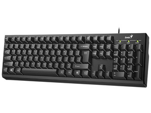 Teclado Genius Smart KB-100, USB. Color Negro.