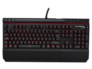 Teclado Gamer Kingston HyperX Alloy Elite, USB, RGB con reposamuñecas. (Caja Dañada)