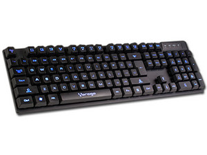 Teclado Multimedia Vorago KB-501, USB