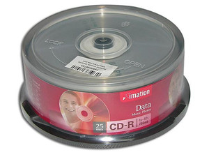 Paquete de 25 CD-R Imation de 700MB / 52X