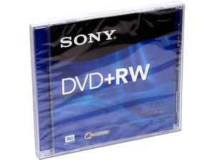 DVD+RW Sony, 4.7GB, 4X, 1 pieza.