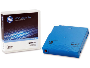 Cartucho de datos regrabable HP LTO-5 Ultrium de 3 TB.