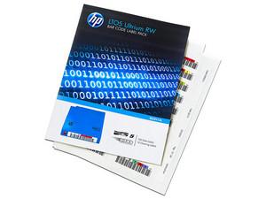 Etiquetas Código de Barras HP para cartuchos Ultrium LTO5 RW.