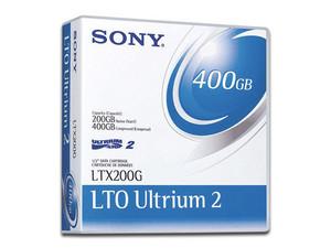 Cartucho de datos regrabable LTX-200G de 200 GB.
