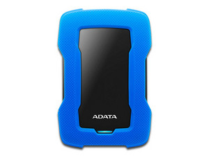 Disco Duro Portátil ADATA HD330 de 2 TB, USB 3.0. Color Azul.