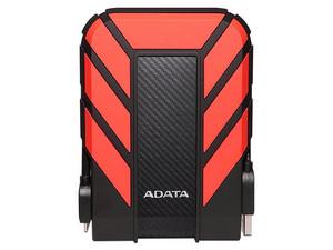 Disco Duro Portátil ADATA DashDrive Durable HD710 Pro de 1 TB a prueba de agua y golpes, USB 3.0.Color Rojo.