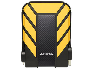 Disco Duro Portátil ADATA HD710 Pro de 1 TB, USB 3.1. Color amarillo.