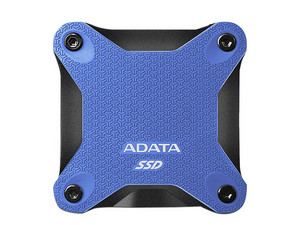 Unidad de Estado Sólido ADATA SD600Q de 240GB, USB 3.1. Color Azul.