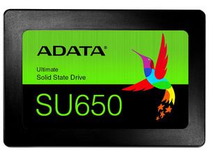 """Unidad de estado sólido ADATA Ultimate SU650 de 120 GB, 2.5\"""" SATA III (6GB/s).Color Negro."""