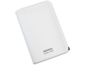 Disco Duro Portable ADATA Classic CH94 de 320GB, USB 2.0. Color Blanco