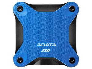 Unidad de Estado Sólido Externo ADATA SD600Q de 480GB, USB 3.1, Color Azul