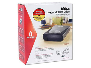 Disco Duro Iomega Network High-Speed Ethernet, 160Gb, 7200RPM, Externo, Ethernet.