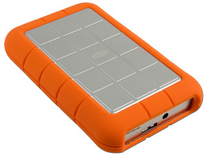 Disco Duro Portable LaCie Rugged de 1TB, USB 3.0