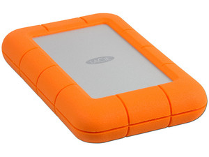 Disco Duro Externo LaCie Rugged Mini de 2 TB, USB 3.0.