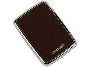 Mini Disco Duro S1 Portable Samsung de 120GB, USB 2.0. Color Café