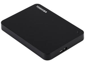 Disco Duro Portátil Toshiba Canvio Advance de 1 TB, USB 3.0, Color Negro.