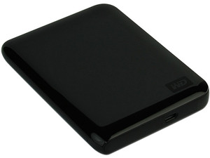 Disco Duro Portable Western Digital Passport Essential SE de 750GB, USB 2.0. Color Negro