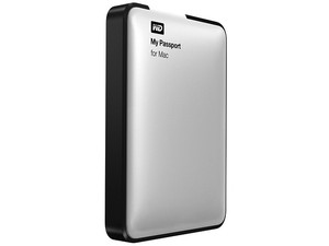 Disco Duro Portátil Western Digital My Passport for Mac de 1 TB, USB 3.0.