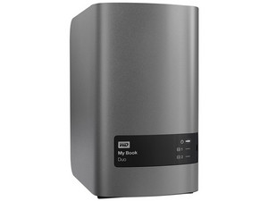 Disco Duro externo Western Digital My Book Duo de 16TB, USB 3.0.