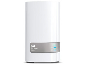 Almacenamiento en la nube personal Western Digital My Cloud Mirror,  8TB, Gigabit Ethernet.