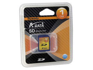 Memoria ADATA Speedy Secure Digital (SD) de 1GB