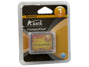Memoria ADATA Speedy Compact Flash de 1GB