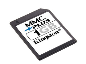 Memoria Kingston de 1GB, MultimediaCard Plus (MMCplus)