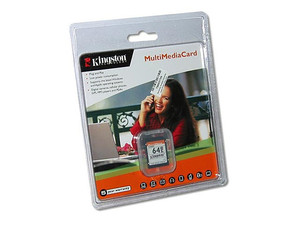 Memoria Kingston de 64MB, Multimedia Card (MMC)