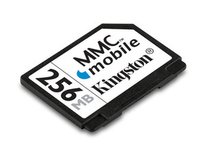 Memoria Kingston de 256MB, MultiMedia Card mobile (MMCM)