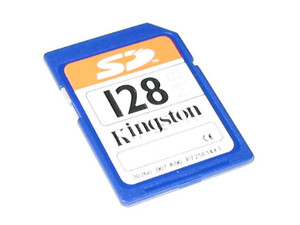 Memoria Kingston de 128MB, Secure Digital (SD)