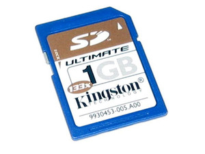 Memoria Kingston de 1GB, Secure Digital Ultimate (SD Ultimate) - 133x