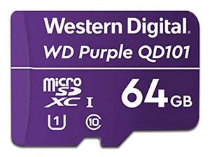 Memoria Western Digital Purple MicroSDXC UHS-I U1 de 64 GB, Clase 10