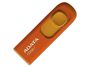 Unidad Flash USB 2.0 ADATA C008 de 32GB, Color Naranja.