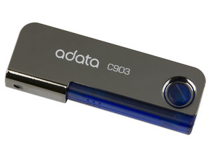 Unidad Flash USB 2.0 ADATA Classic C903 de 4GB. Color Azul