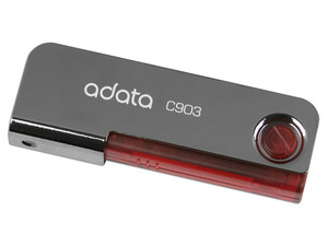 Unidad Flash USB 2.0 ADATA Classic C903 de 4GB. Color Roja