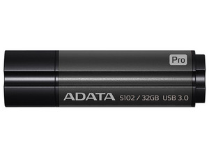 Unidad Flash USB 3.0 ADATA S102 Pro de 32 GB. Color Gris.