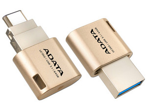 Unidad Flash USB 3.0 ADATA DashDrive UC350 de 64GB.